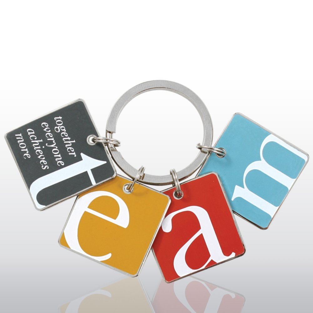 View larger image of Simply Charming Key Chain - TEAM