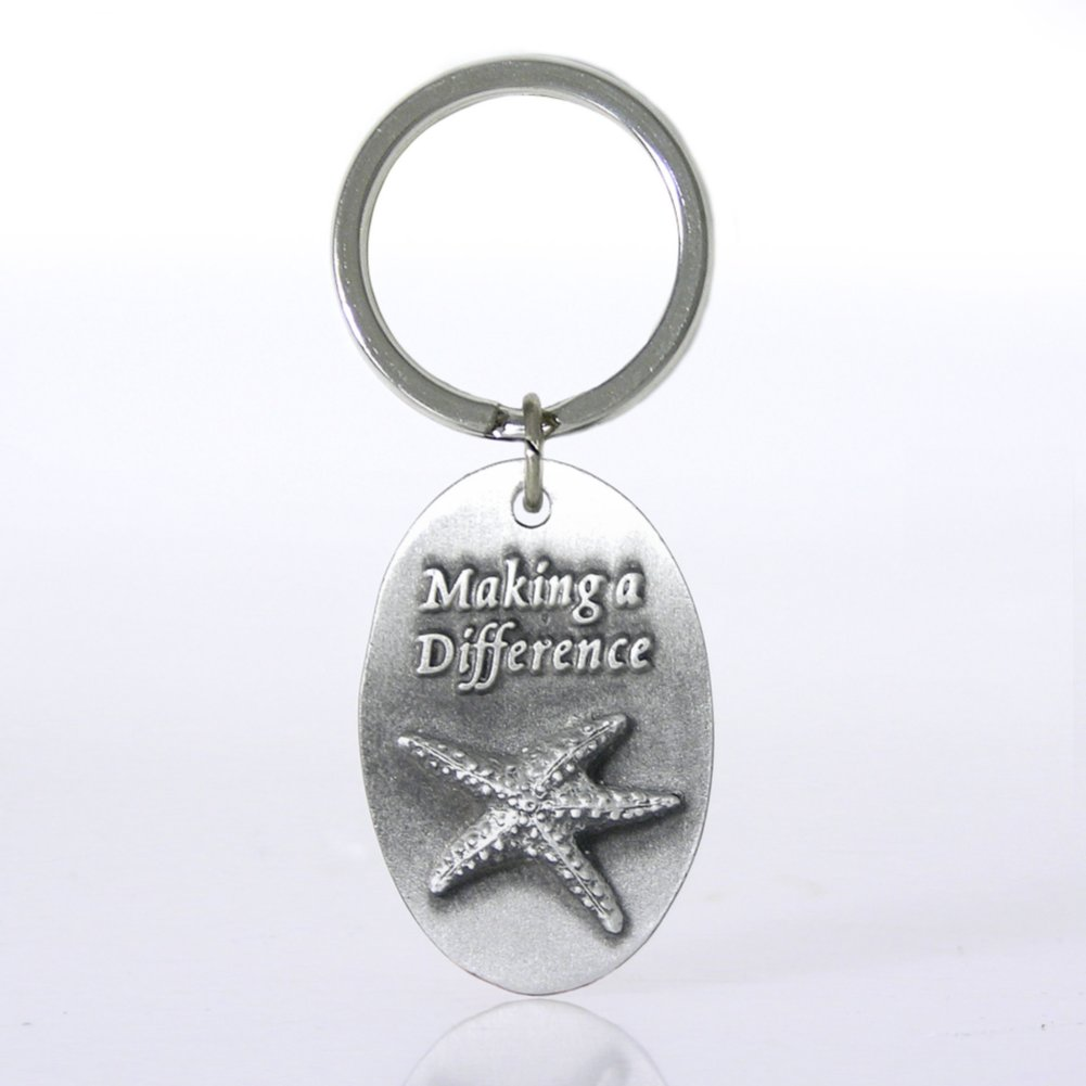 Character Key Chain - Starfish: Making a Difference