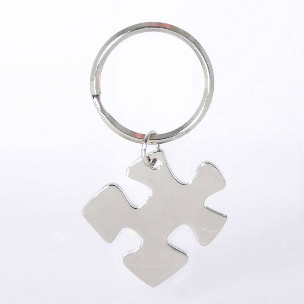 View larger image of Nickel-Finish Key Chain - Essential Piece