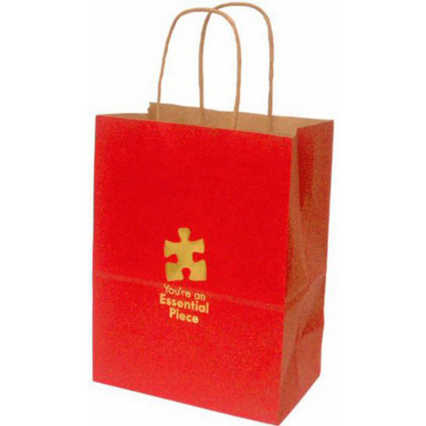 Kraft Paper Gift Bag - Essential Piece