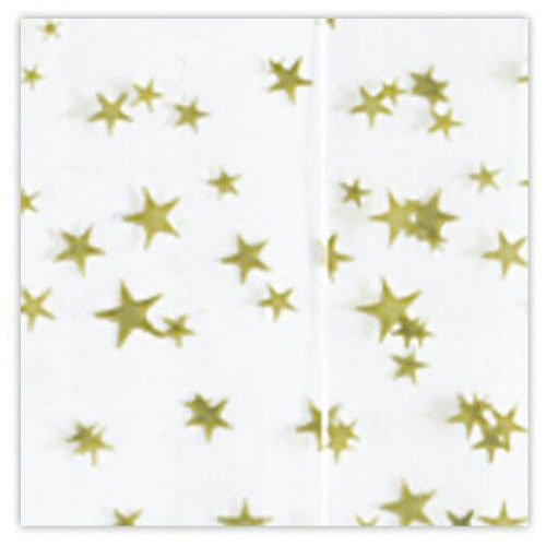 View larger image of Tissue Paper - White w/ Gold Stars