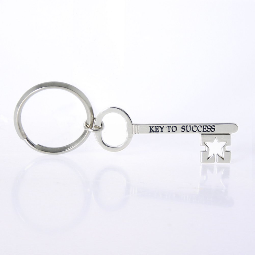 View larger image of Nickel-Finish Key Chain - Key to Success