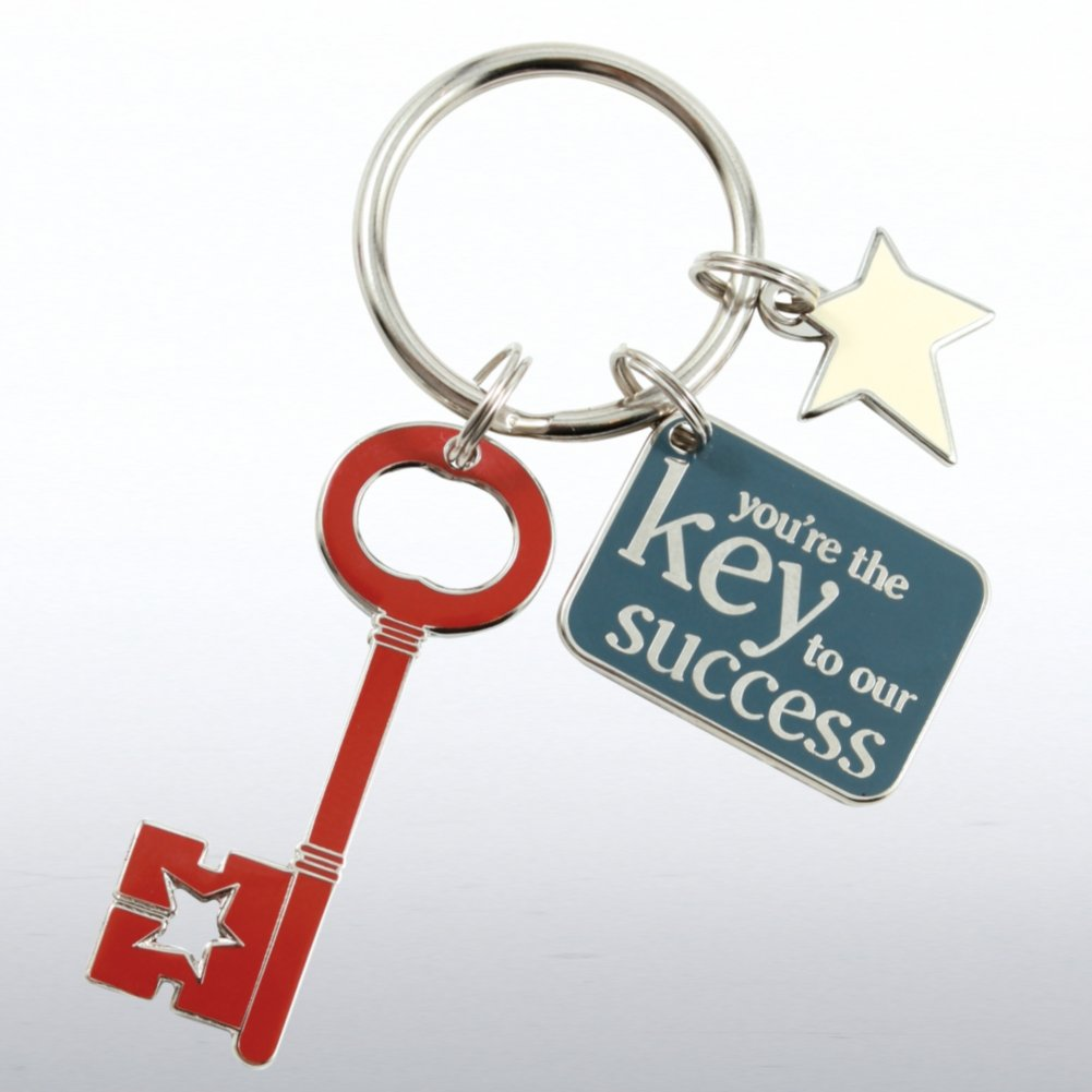 View larger image of Simply Charming Key Chain - Key to Success