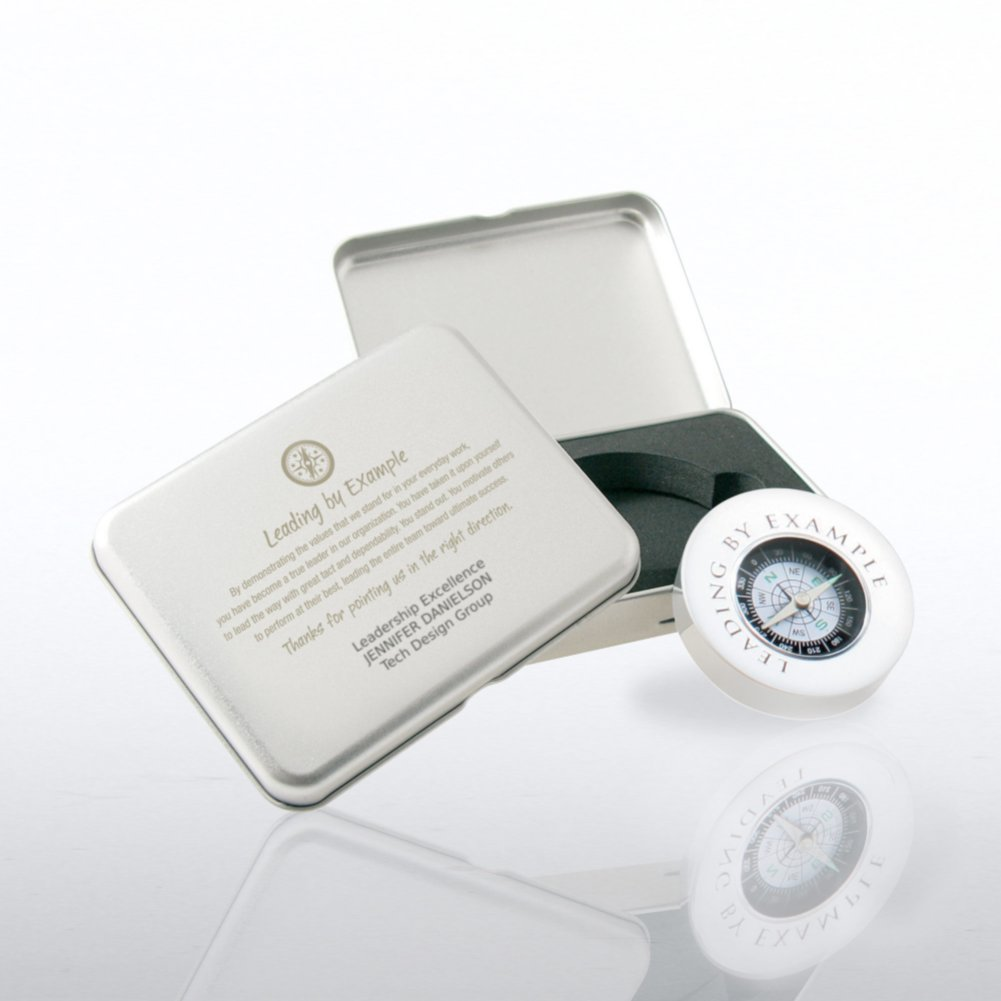 View larger image of Compass Silver Gift Set