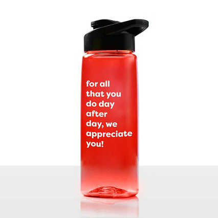Value Everyday Vibrance Water Bottle - Appreciate You
