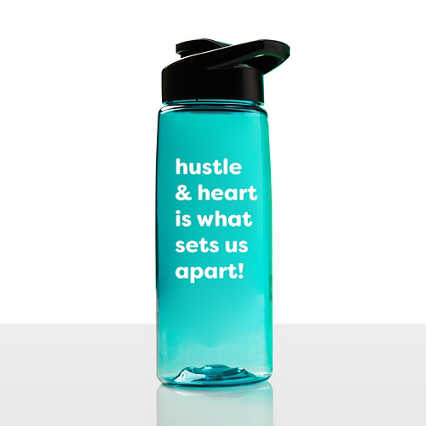 Everyday Vibrance Water Bottle - Hustle & Heart