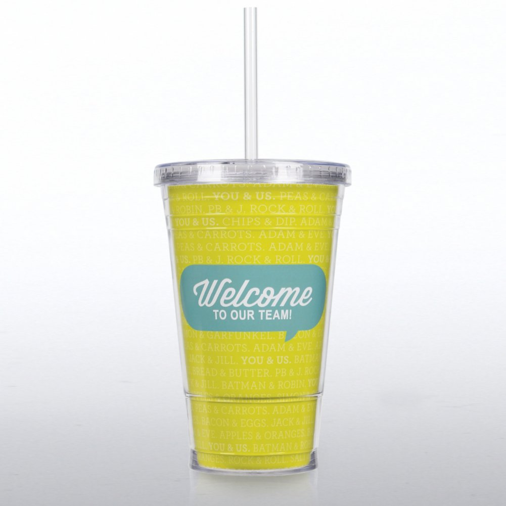 View larger image of Twist Top Tumbler - On Boarding - Welcome