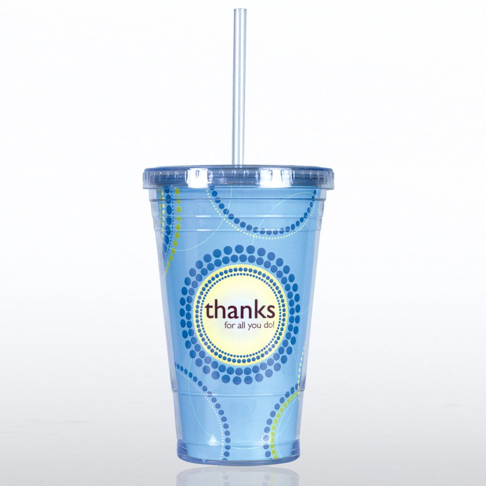 View larger image of Twist Top Tumbler - Thanks for All You Do!