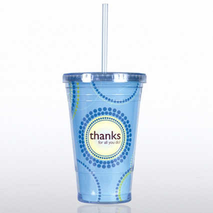 Twist Top Tumbler - Thanks for All You Do!