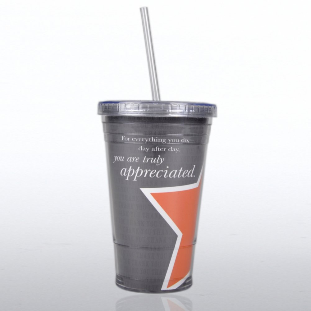 View larger image of Twist Top Tumbler - You are Truly Appreciated