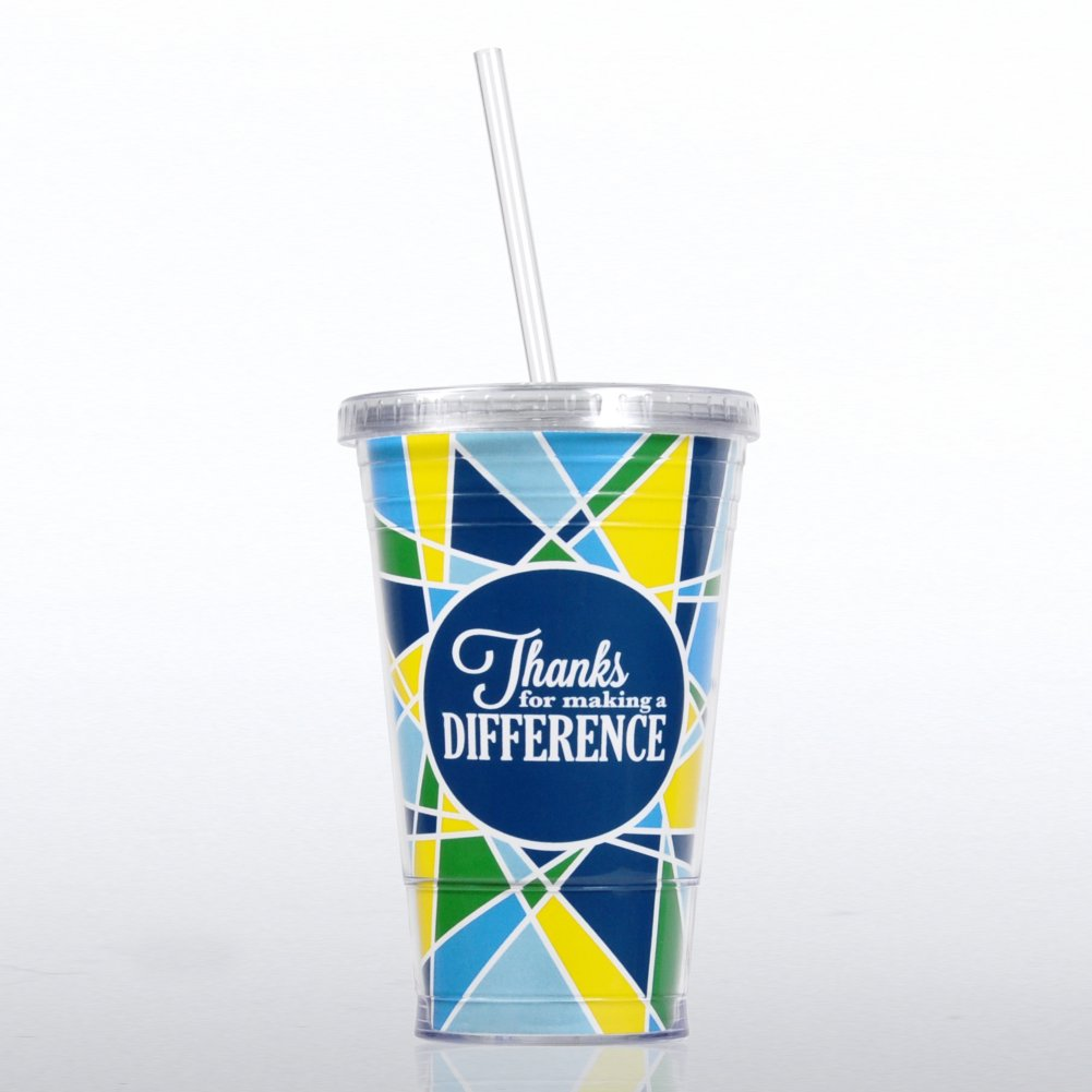View larger image of Twist Top Tumbler - Thanks for Making a Difference