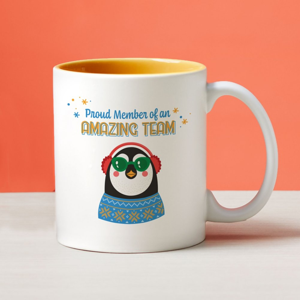 View larger image of Cheerful Character Mugs - Proud Member of an Amazing Team
