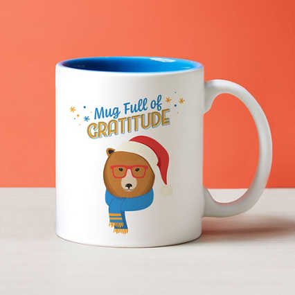 Cheerful Character Mugs - Mug Full of Gratitude