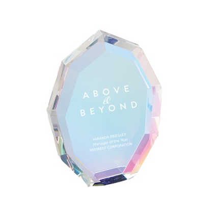 Iridescent Crystal Collection - Diamond