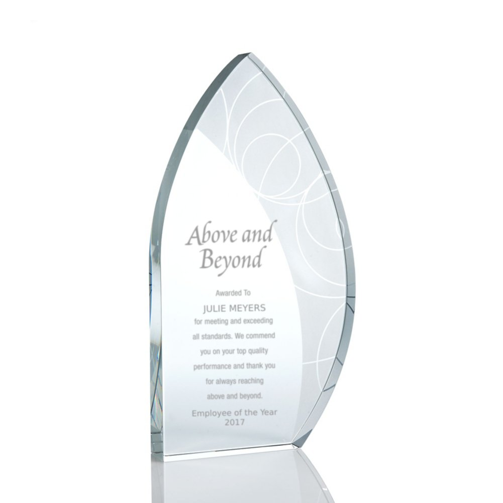 View larger image of Pattern Etched Glass Award - Sail