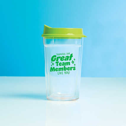 Value Color Pop Travel Tumbler - Great Team Member