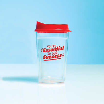 Value Color Pop Travel Tumbler - Essential To Our Success