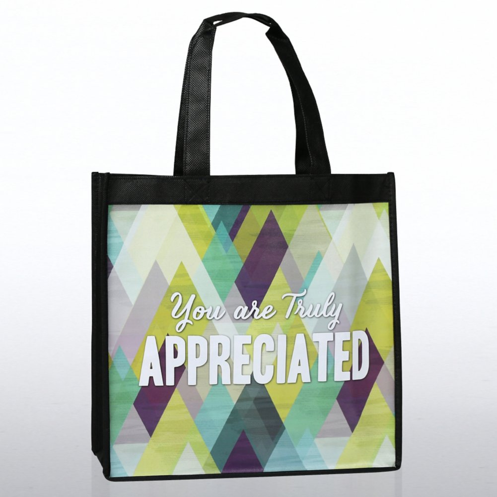 View larger image of Stylin' Shopper Tote - You are Truly Appreciated!