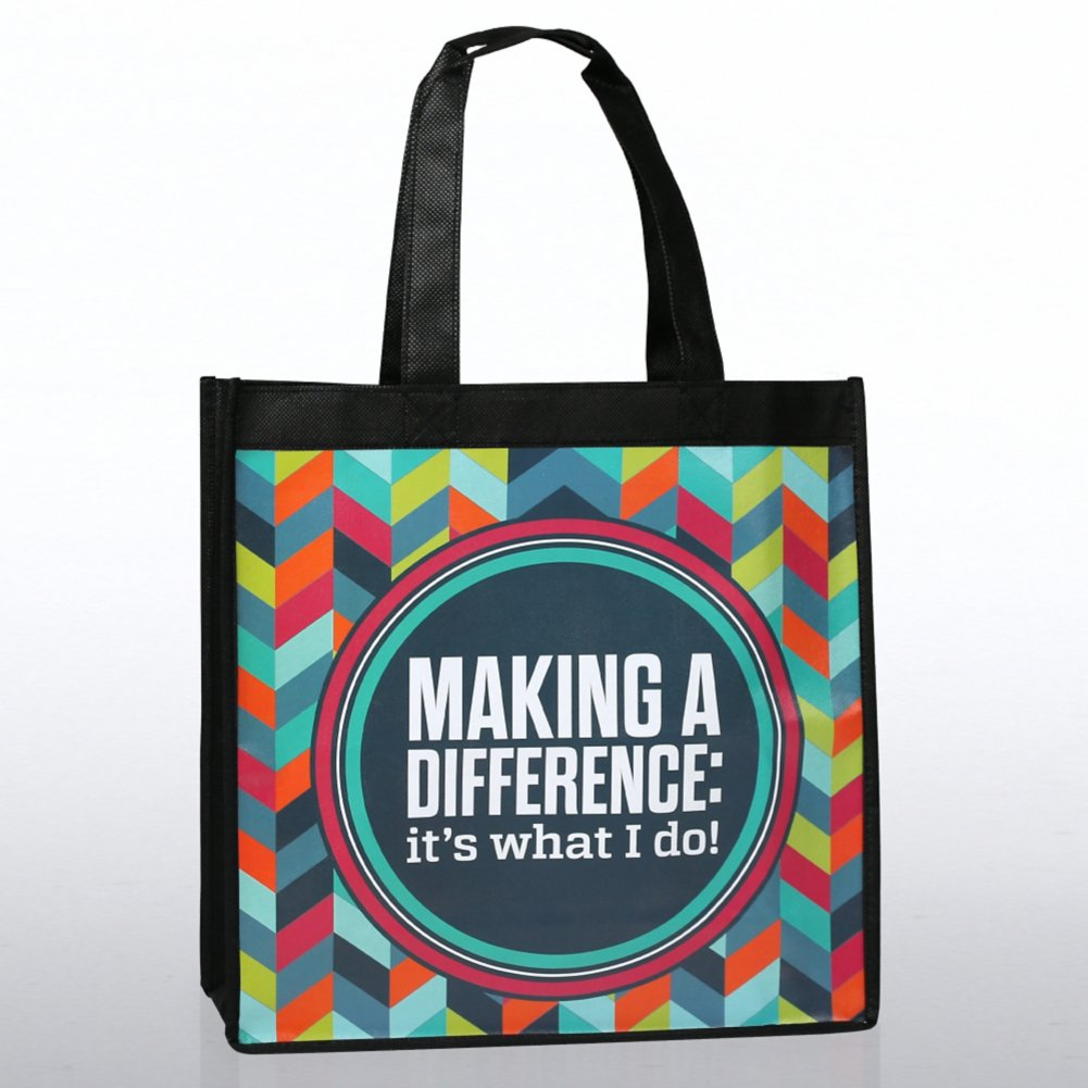 View larger image of Stylin' Shopper Tote - Making a Difference: It's What I Do