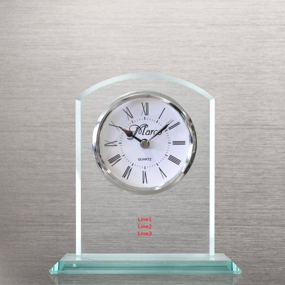 View larger image of Elegant Glass Clock