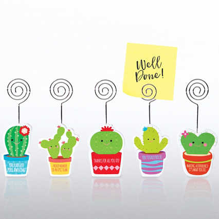 Merry Memo Clip Set - Cacti Set
