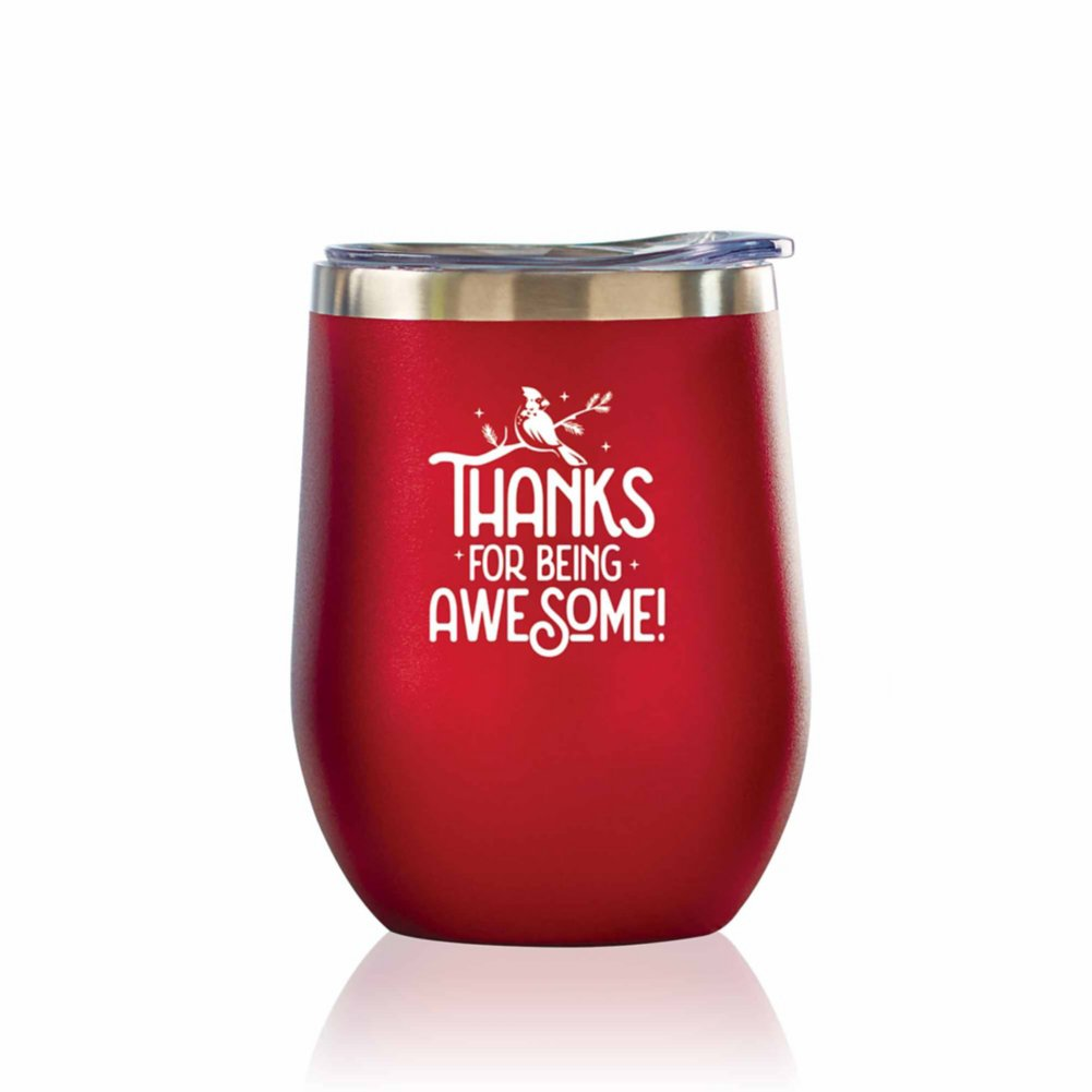 View larger image of Bright Spirits Beverage Tumbler - Thanks for Being Awesome