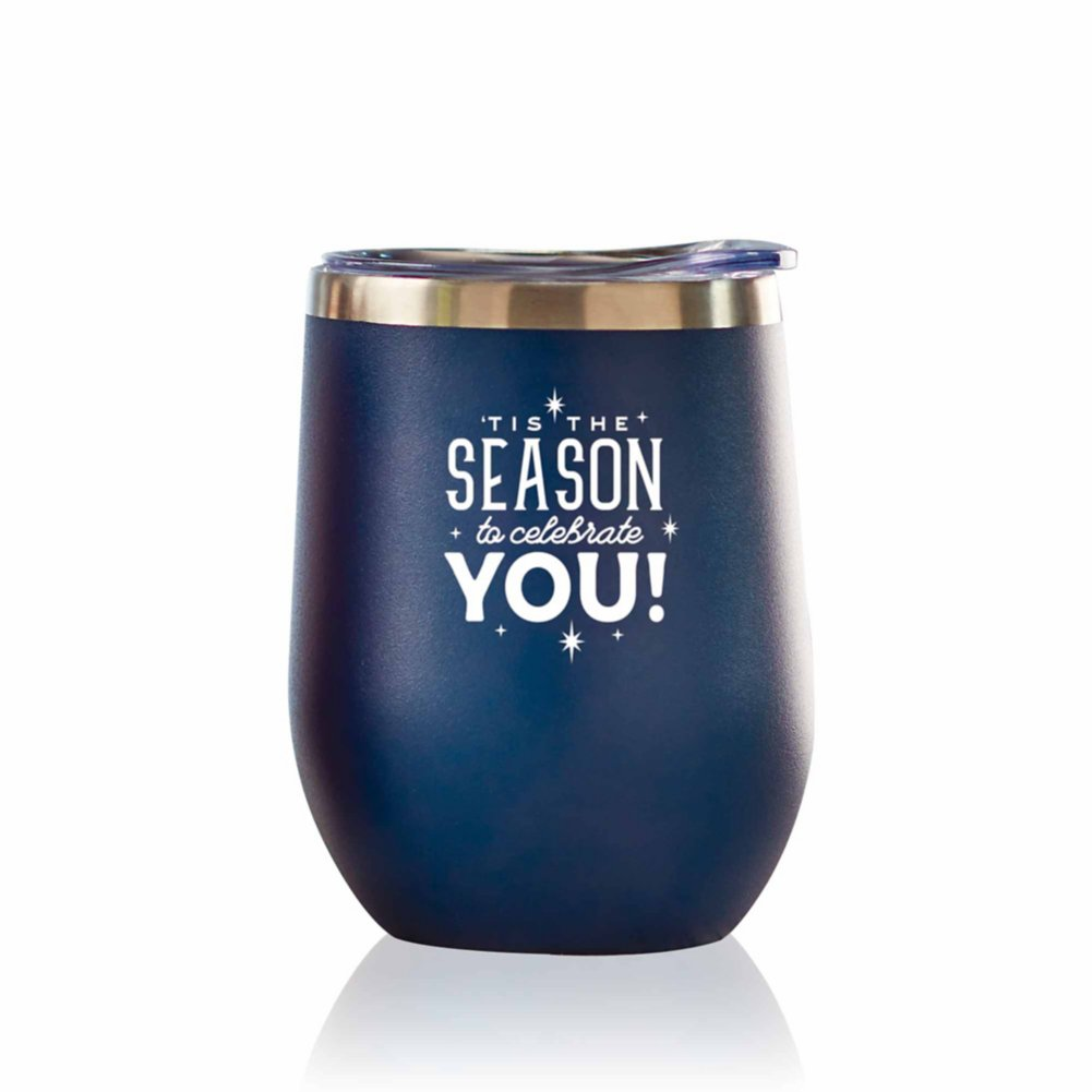 View larger image of Bright Spirits Beverage Tumbler - 'Tis The Season