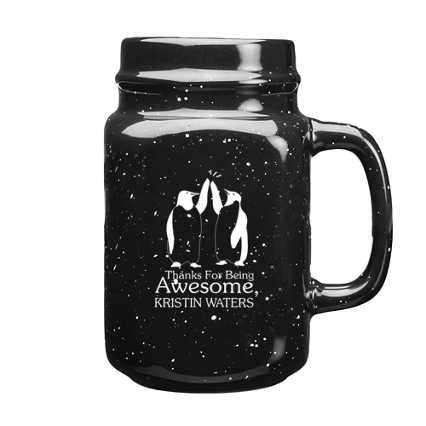 Custom Collection: Ceramic Campfire Mason Jar Mug