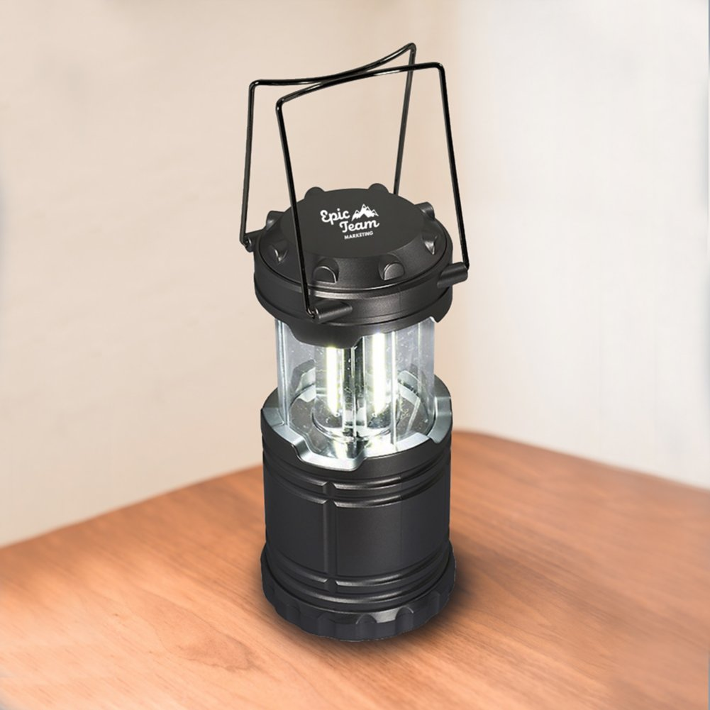 View larger image of Shine Bright Lantern - Black