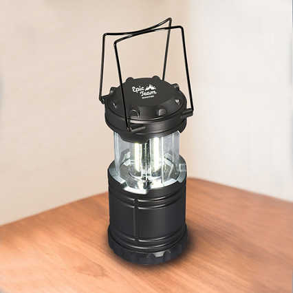 Shine Bright Lantern - Black