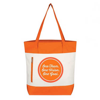 Value Boat Tote - One Team. One Vision. One Goal.