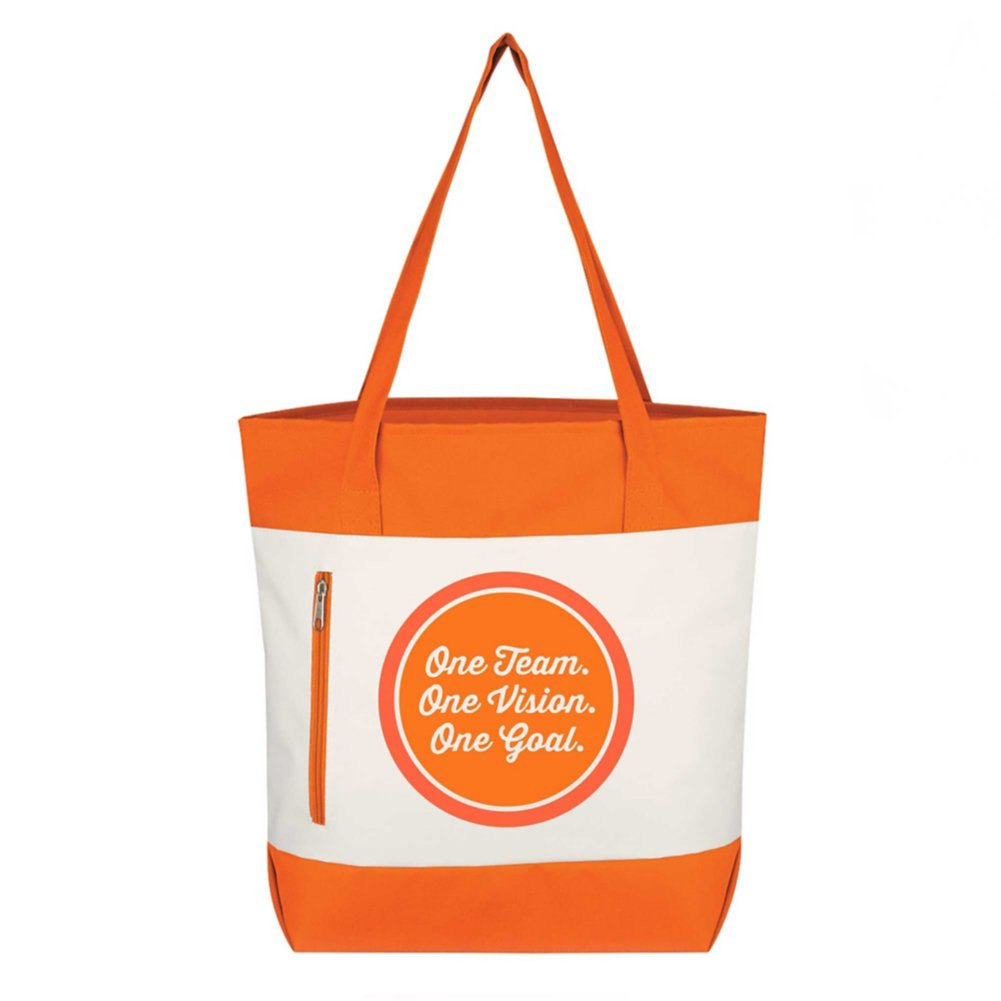 View larger image of Value Boat Tote - One Team. One Vision. One Goal.