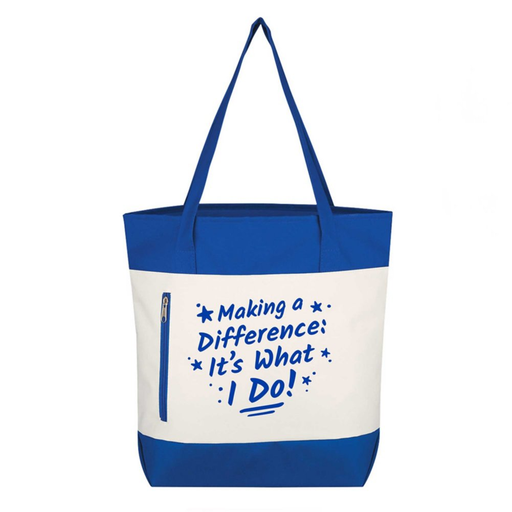 Value Boat Tote - Making A Difference: It's What I Do!