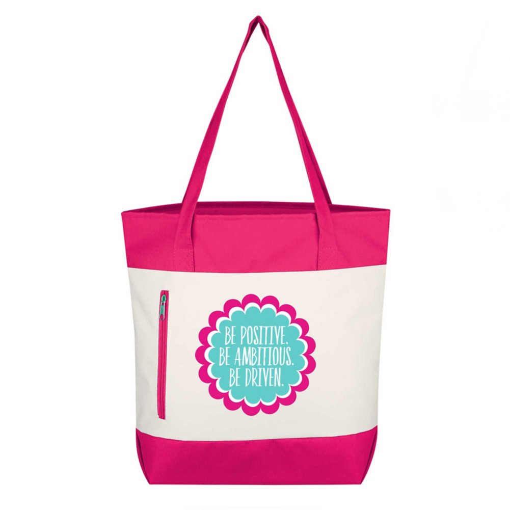View larger image of Value Boat Tote - Be Positive. Be Ambitious. Be Driven.
