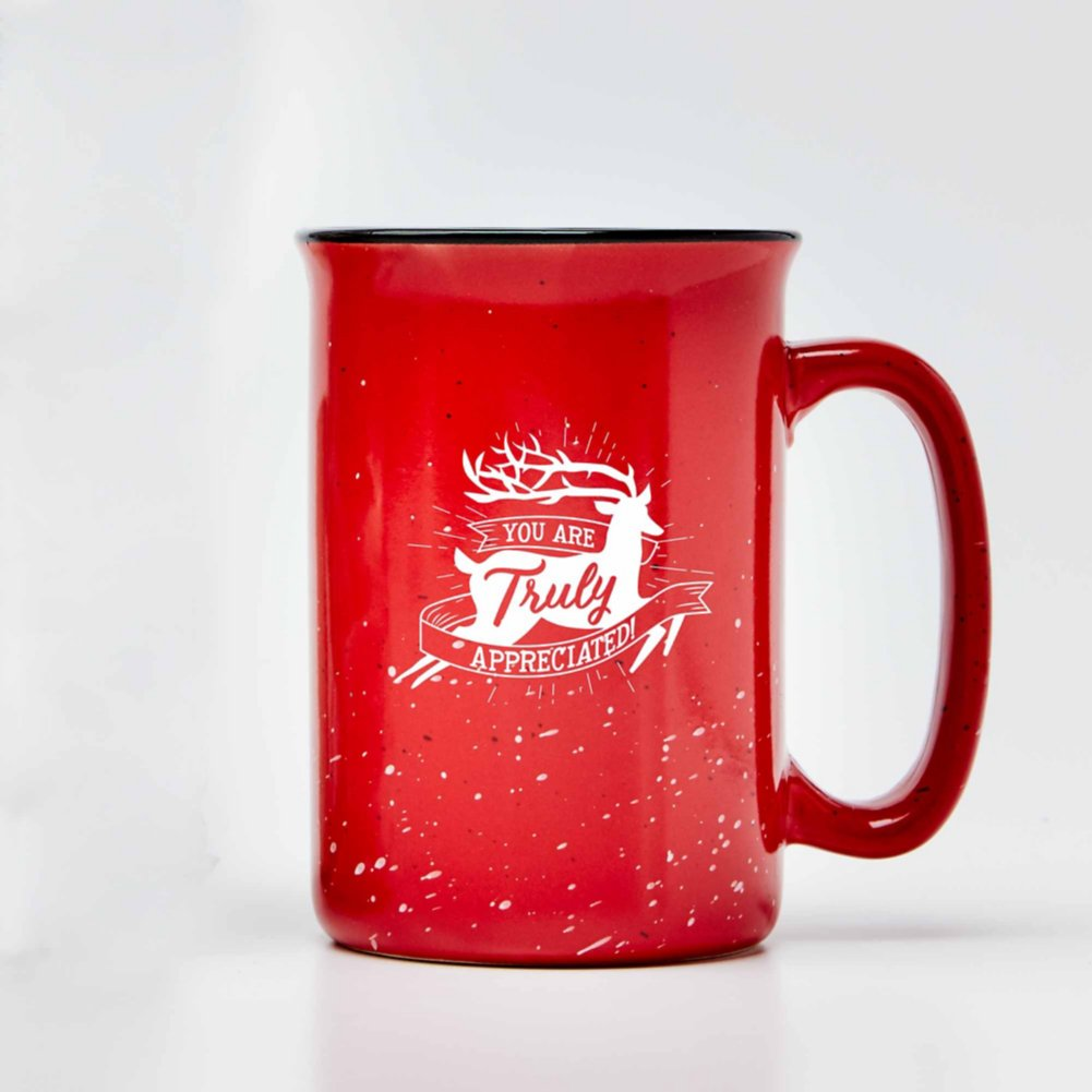 Tall Campfire Mug - You Are Truly Appreciated!