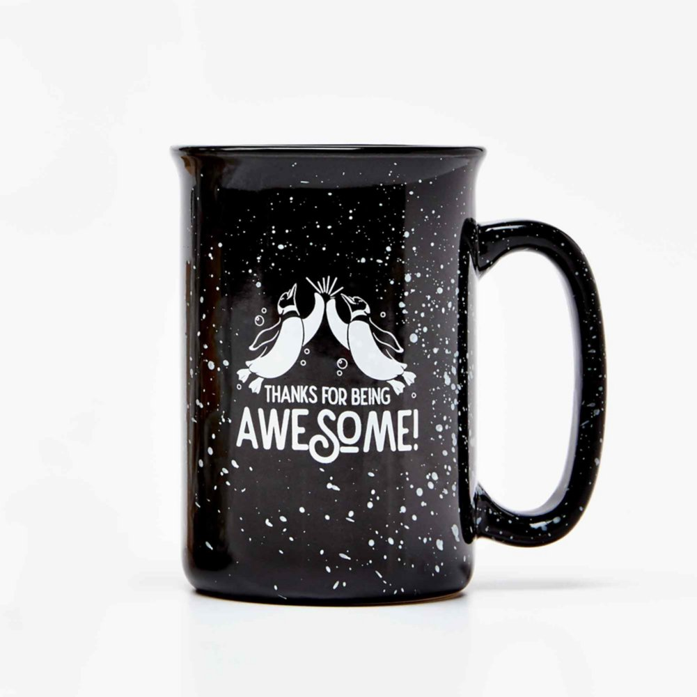 View larger image of Tall Campfire Mug - Thanks for Being Awesome!