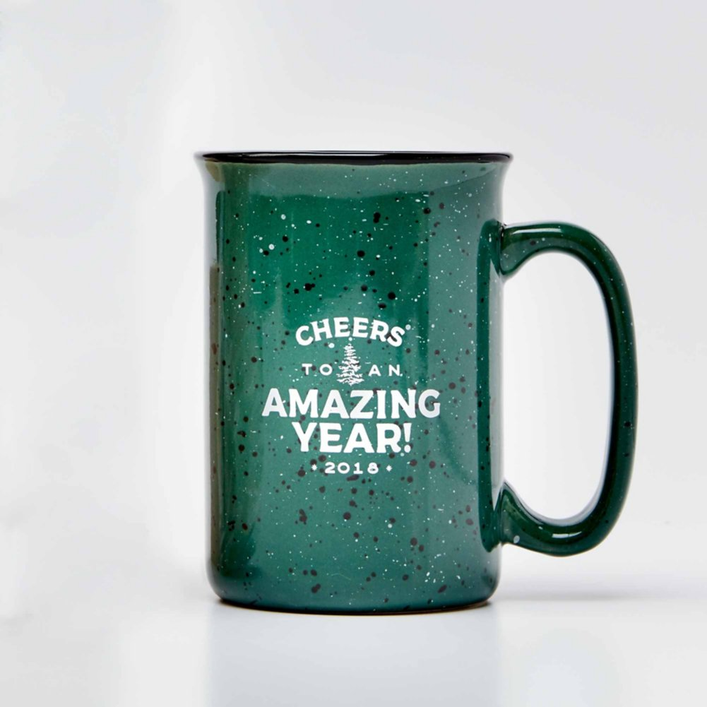 View larger image of Tall Campfire Mug - Cheers to an Amazing Year! 2018  AMAZON