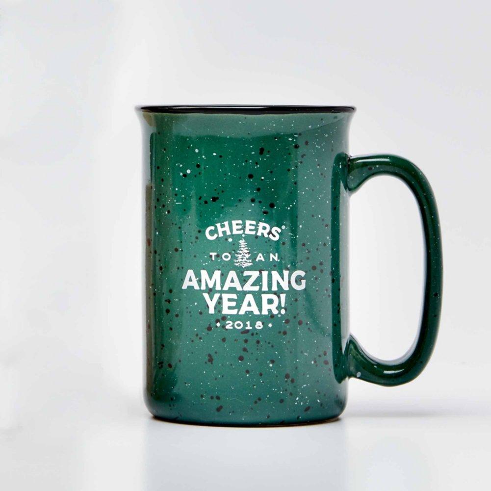 Tall Campfire Mug - Cheers to an Amazing Year! 2018