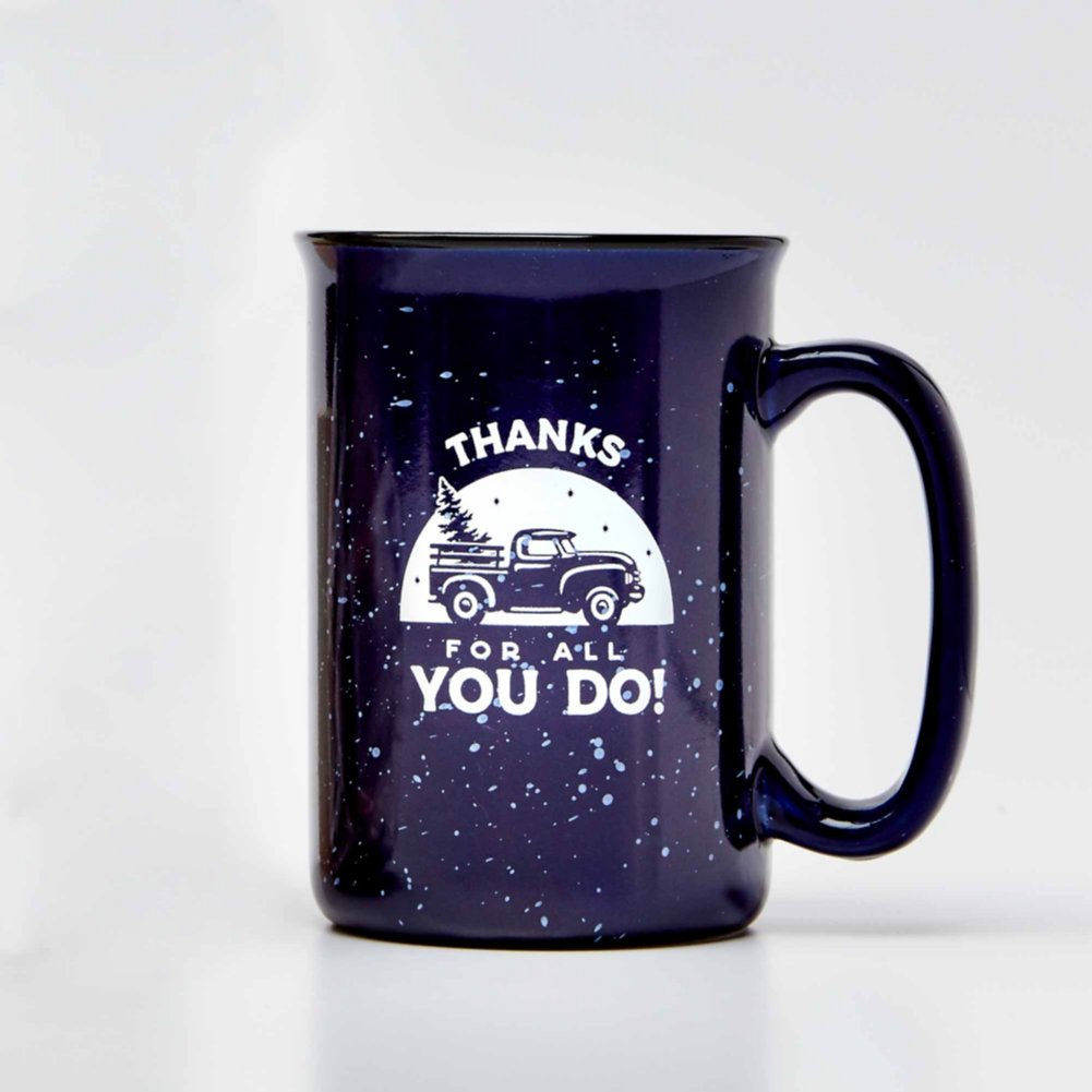 View larger image of Tall Campfire Mug - Thanks for All You Do!