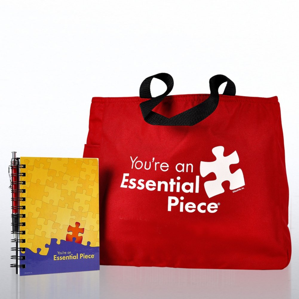 View larger image of Journal, Pen & Tote Gift Set - Essential Piece