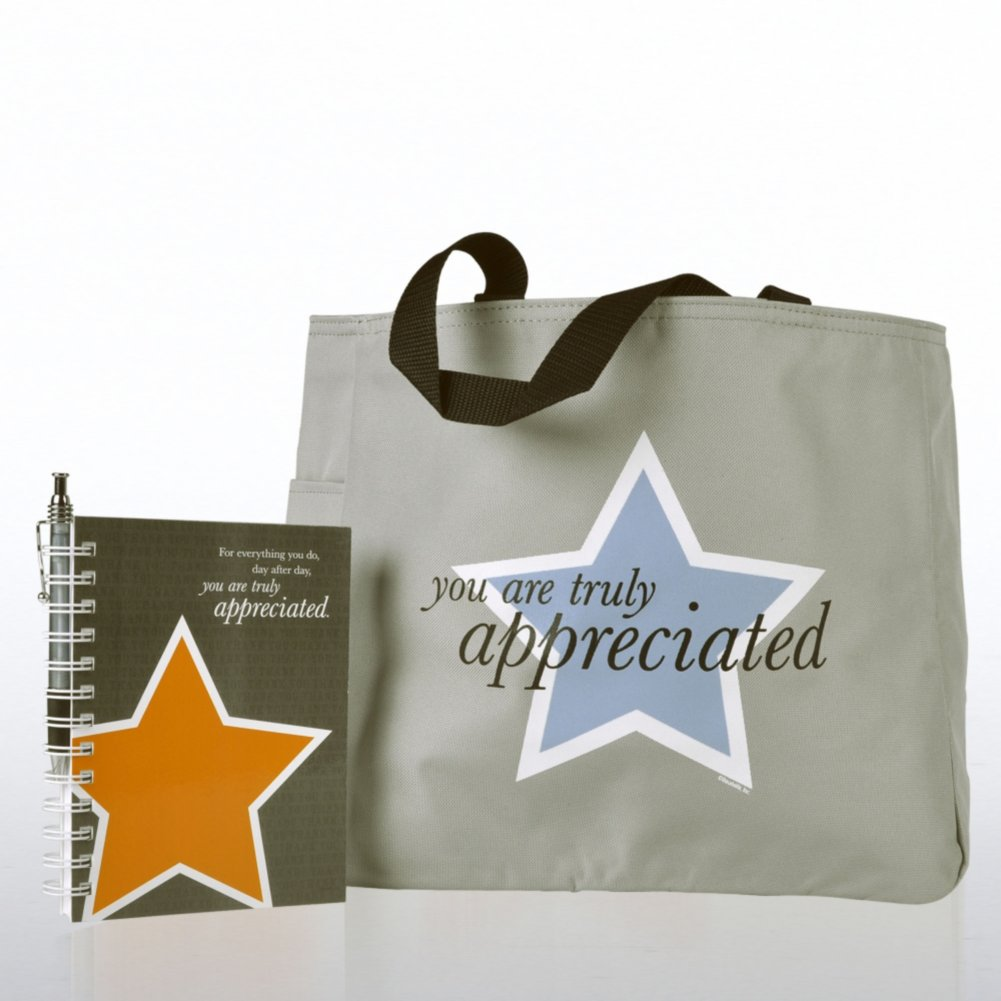 Journal, Pen & Tote Gift Set - You are Truly Appreciated