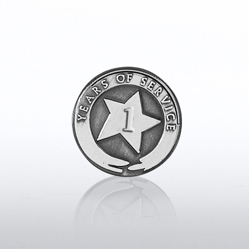 View larger image of Silver Anniversary Lapel Pins