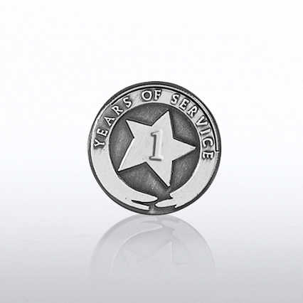 Silver Anniversary Lapel Pins