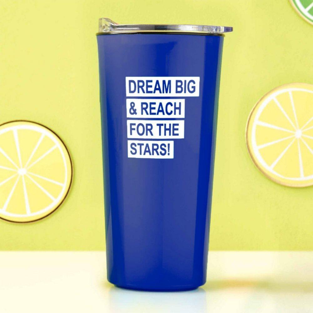 View larger image of Road Trip Travel Mug - Dream Big - Royal Blue