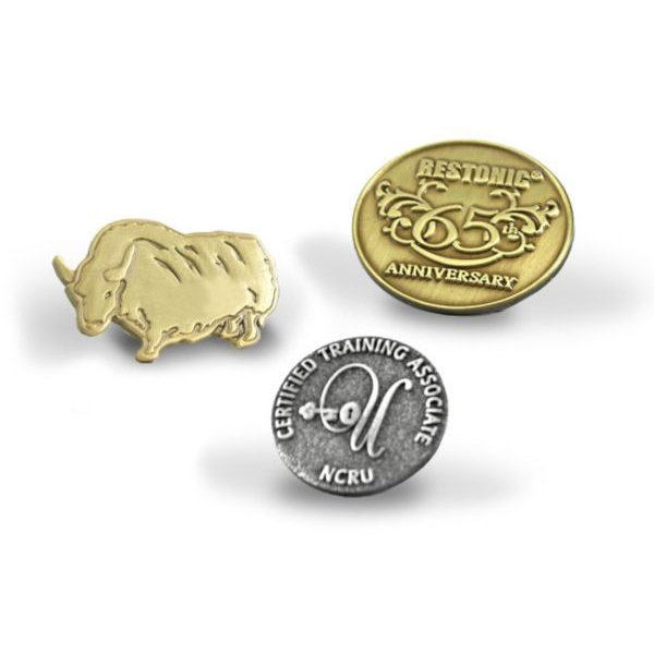 View larger image of Custom Lapel Pin - Die Struck