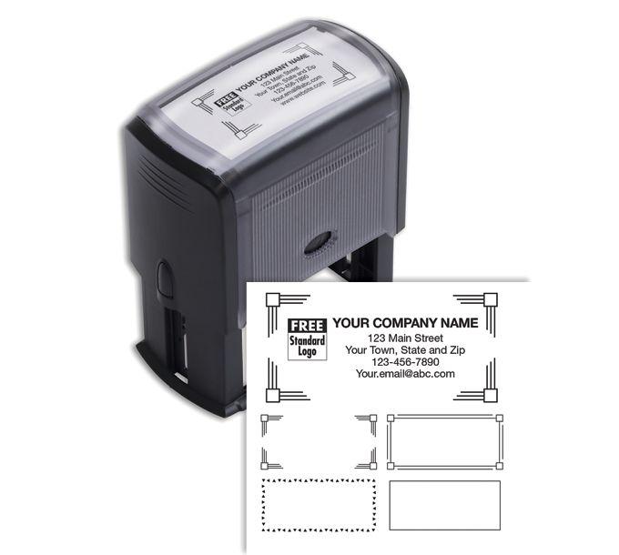 102169L-Name & Address Stamp, Large - Self-Inking102169L