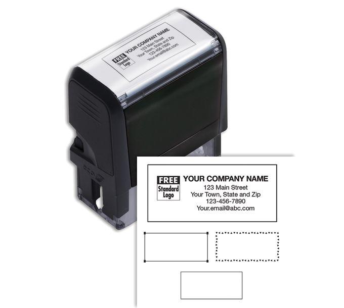 102169M-Name & Address Stamp, Medium - Self-Inking102169M