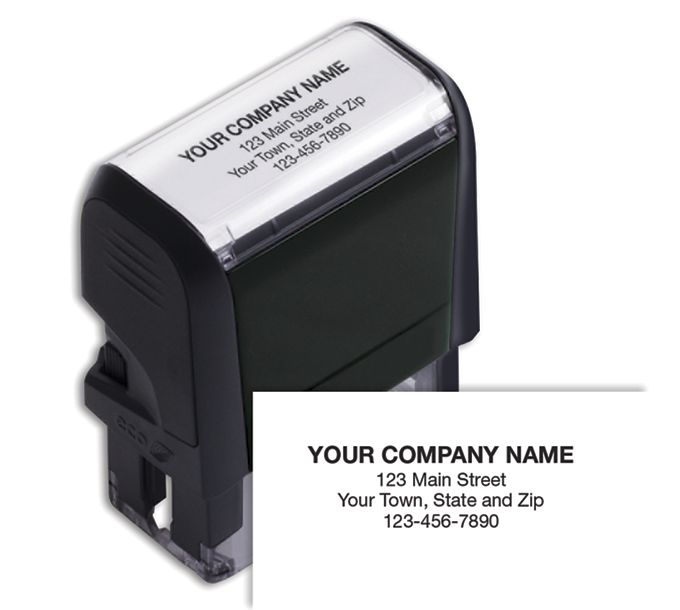 102169S-Name and Address Stamp, Small - Self-Inking102169S