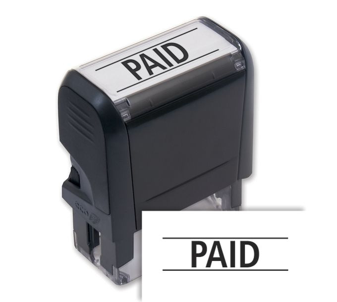 103002-Paid Stamp - Self-Inking103002