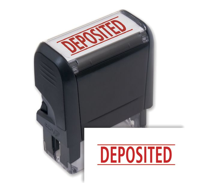 103011-Deposited Stamp - Self-Inking103011